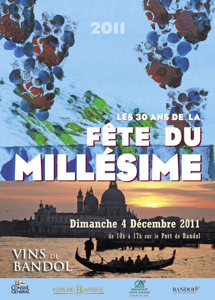 Bandol fête du millésime 2011 le dimanche 4 décembre