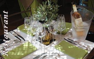 Restaurant domaine de Terrebrune - restaurant à bandol