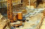 Le Domaine en travaux | cave en construction